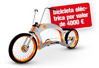 Compre un taladro y gane una bicicleta eléctrica