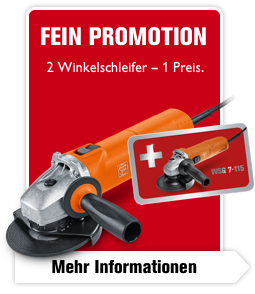 2 Winkelschleifer – 1 Preis.