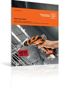 The new FEIN 12 V cordless drill/driver: optimum torque and high speeds for perfect drilling and screw connection results