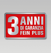 3 anni di garanzia FEIN PLUS