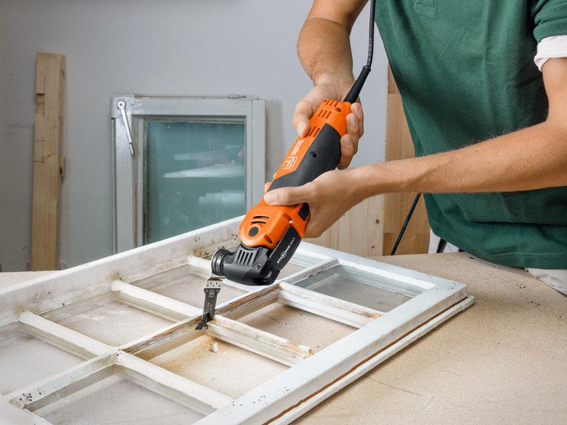 SuperCut Construction - Profesionálna súprava FEIN pre výmenu/opravu okien
