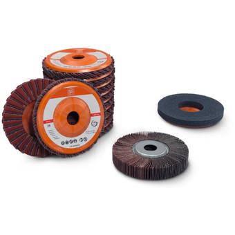 RS stål sæt t. slibning på rør & profiler