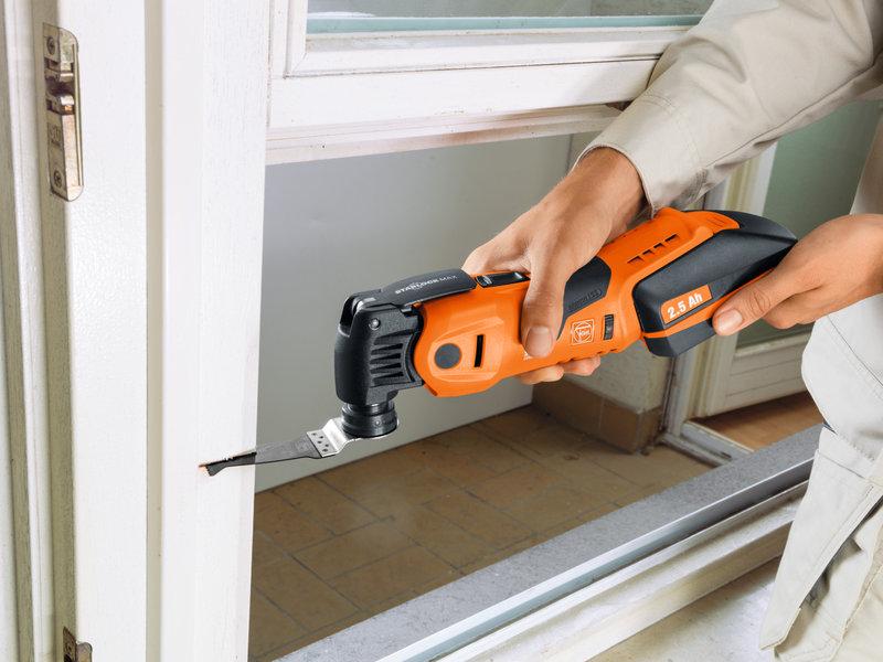 SuperCut Construction - FEIN-ammattilaistuotteet ikkunoiden korjaukseen ja vaihtoon