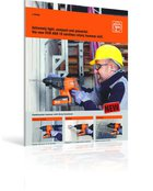 The new FEIN ABH 18 cordless rotary hammer drill