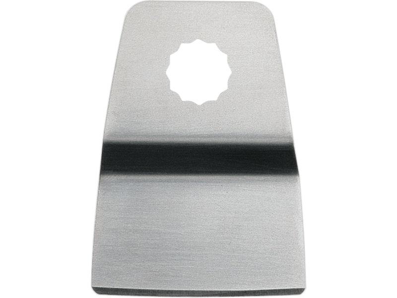 Rigid scraper blade