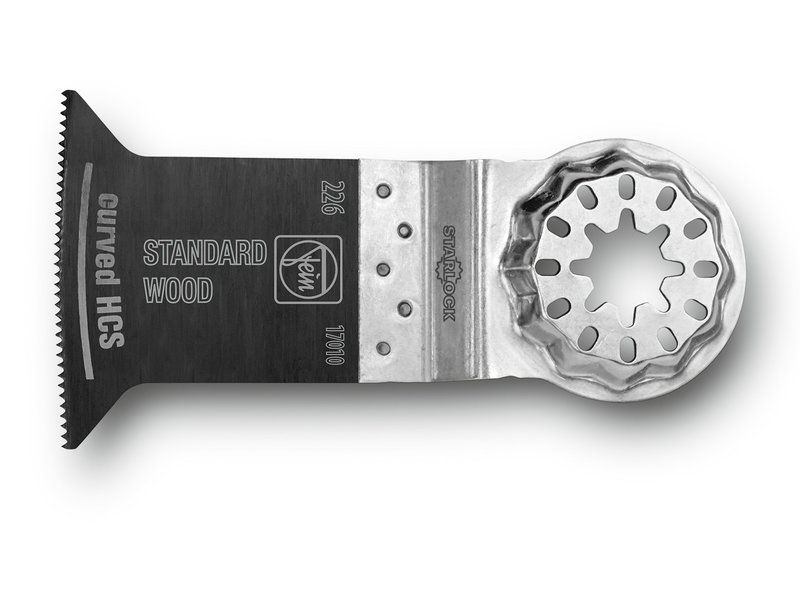 E-Cut Standard testere bıçağı, kavisli