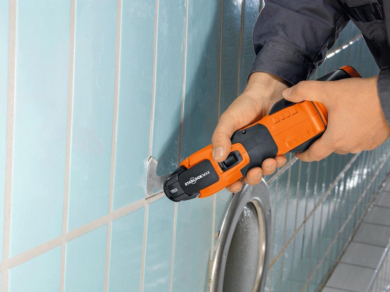 SuperCut Construction - FEIN professionelt sæt til renovering af fliser/baderum