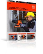 The FEIN cordless rotary hammer drill ABH 18