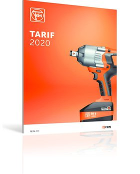 Tarif machines et accessoires 2020