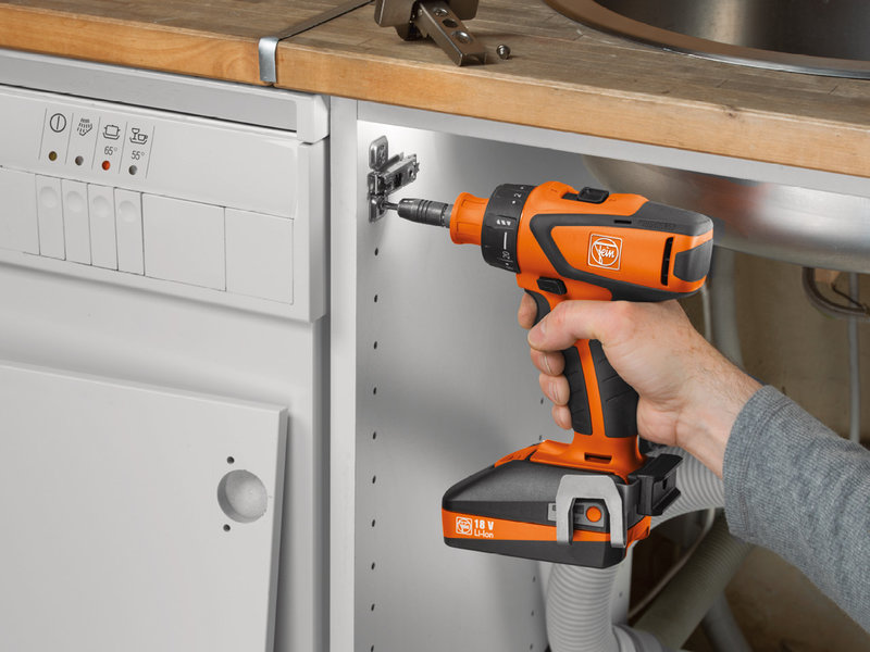 Cordless drill/driver - ASCM 18 QSW Select