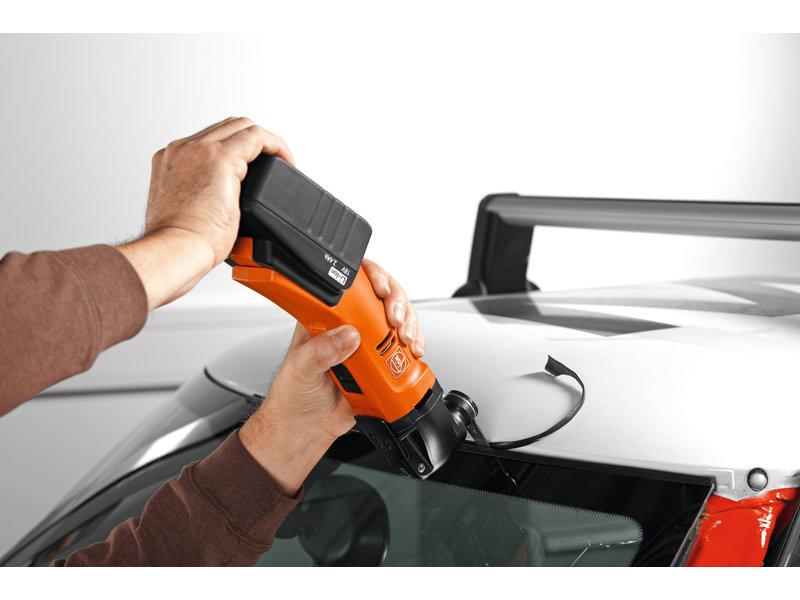 Demontare geamuri autovehicule - Set profesional FEIN pentru lucrări de geamgerie auto