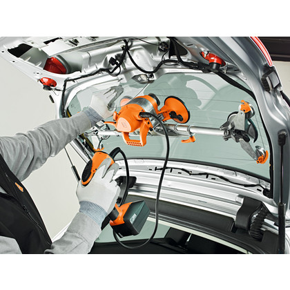 Desmontagem de vidros em veículos - SuperWire