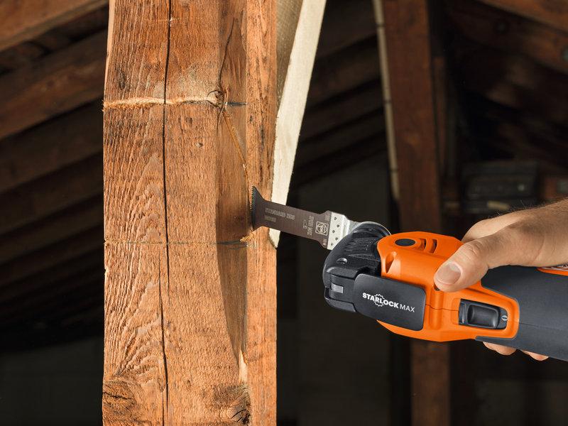 SuperCut Construction - Set professionale FEIN per lavori di falegnameria/allestimento d'interni