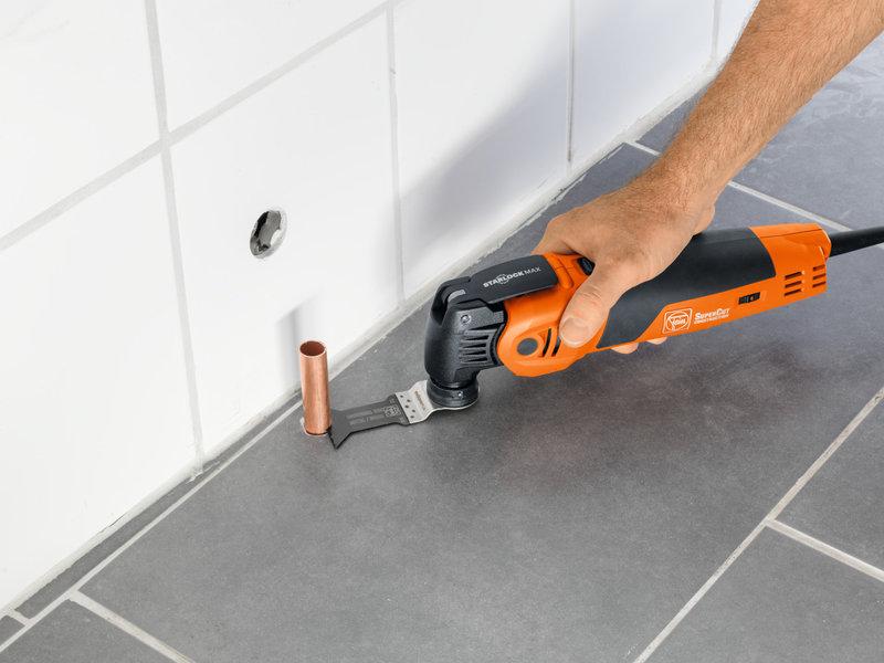 SuperCut Construction - FEIN-ammattilaistuotteet lämmitys- ja saniteettiasennuksiin
