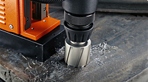 Drilling and core drilling metal