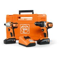 Batteri-bormaskin + skrutrekker - Combo ABS 18 C - ASCD 18 W4C