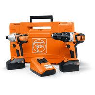 Batteri-bormaskin + skrutrekker - Combo ASB 18 - ASCD 18 W4