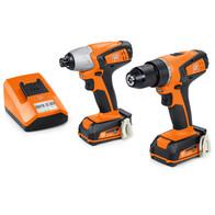 Cordless-screwdrivers - Combo ASCD 12-100 W4C + ABSU 12 C