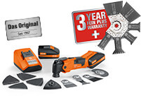 Buy a FEIN MultiMaster and benefit twice over