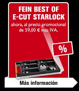 FEIN Best of E-Cut Starlock