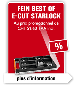FEIN Best of E-Cut Starlock