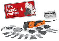 KjøpettFEIN SuperCut 500 QSL Proffsett og få to fordeler