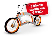 Boormachine kopen en e-bike winnen