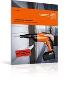 FEIN cordless metal screw guns ASCS 6.3 and ASCS 4.8.