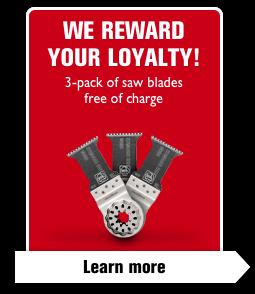 We reward your loyalty!