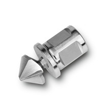 HSS 90° för bits konisk försänkare med adapter i 3/4 Weldonfäste