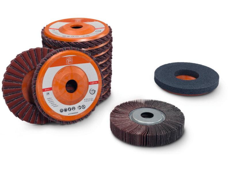 Set acier inoxydable pour le ponçage de tubes / profilés