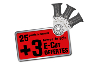 Le programme de fidélité pour lames de scie E-Cut