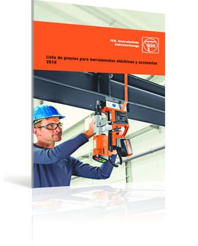 Lista de precios para herramientas eléctricas y accesorios 2018