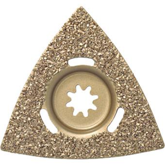 Hartmetall-Raspel, Dreiecksform
