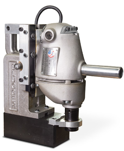 JM-101 – one of Jancy's first magnetic base drills.