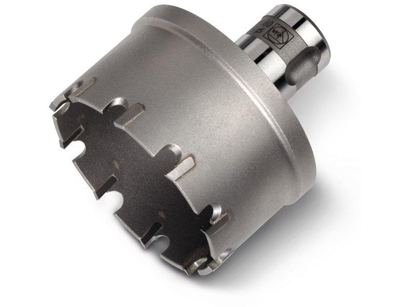 Scie-cloche au carbure de tungstène pour tubes avec emmanchement QuickIN PLUS