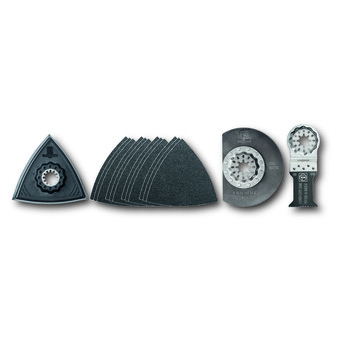 Set of accessories for renovating windows
