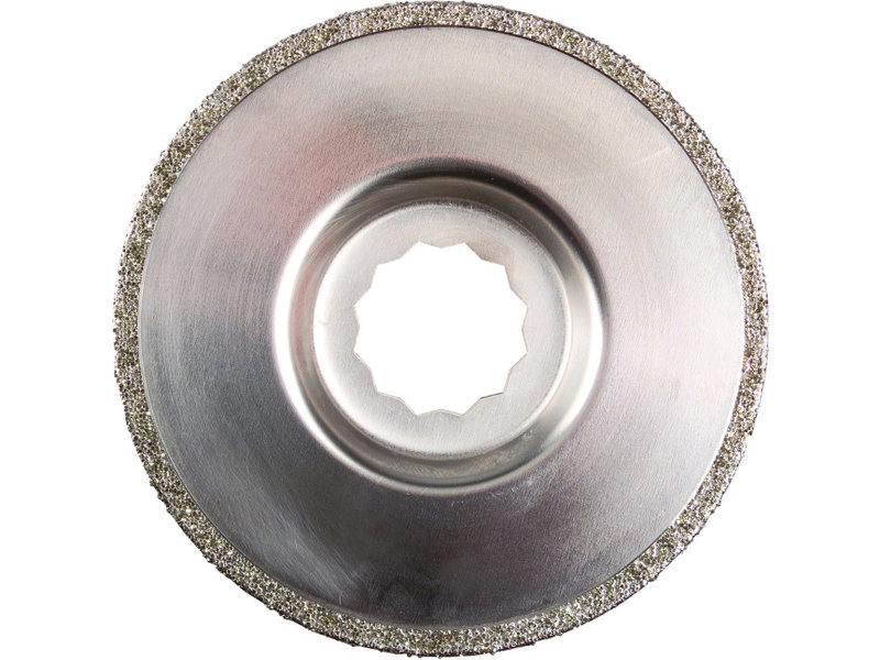 Diamond-coated saw blade