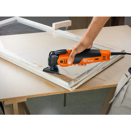 SuperCut Construction - Kit profissional FEIN para reparação/troca de janelas