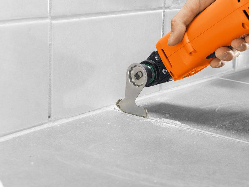 SuperCut Construction - Profesjonalny zestaw FEIN do płytek / remontów łazienek