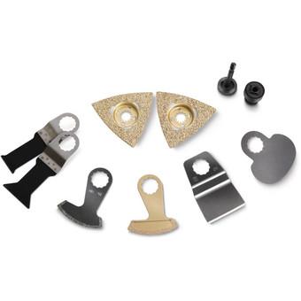 Zestaw akcesorów do usuwania płytek ceramicznych/remontów łazienek
