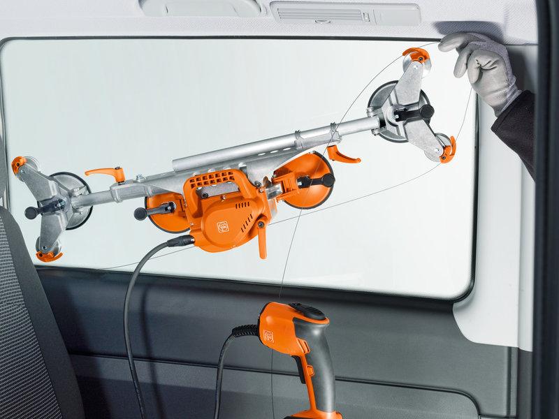 Eliminación de cristales de vehículos - SuperWire (sin acumulador y sin cargador)