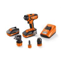 Cordless drill/driver - Professional set ASCM 18 QSW