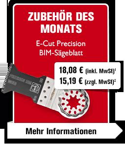 E-Cut Precision BIM-Sägeblatt