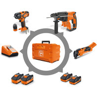 Cordless drill/driver - Combo #3 - ASB + AFMM + ABH