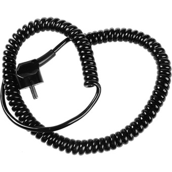 Coiled power cable