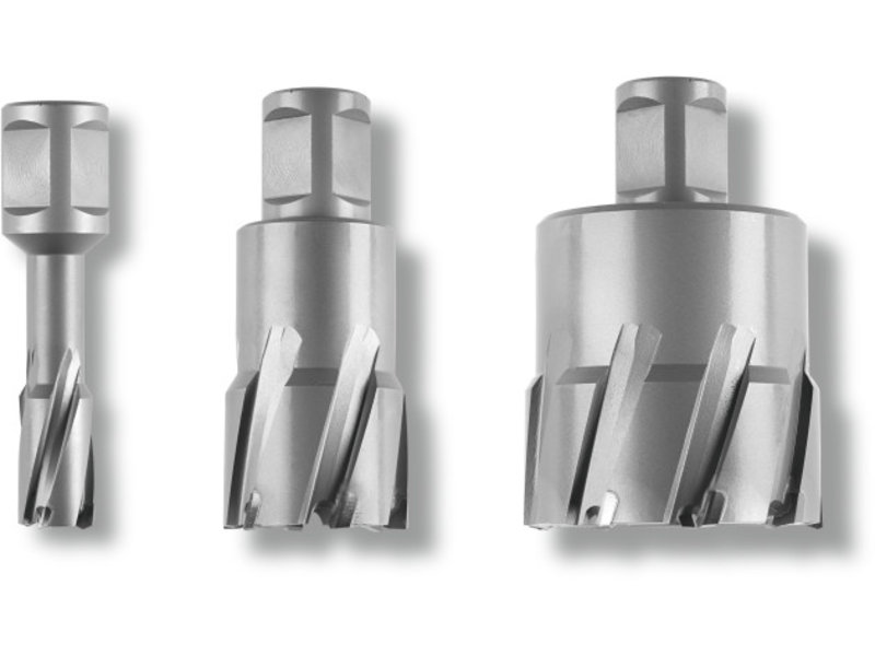 Fraise HM Ultra avec porte-outil Weldon 1-1/4in
