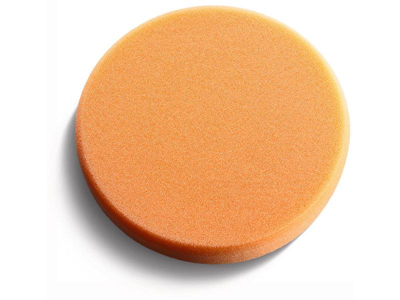 Polishing sponge, orange