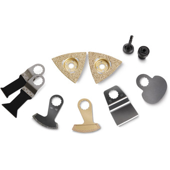 Accessory set for tile restoration/bathroom renovation