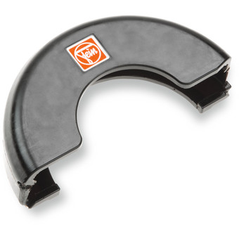 Protective guard for cutting work